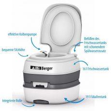 Mobil WC Berger