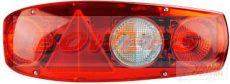 Caraluna II Plus, piros lakókocsi lámpa