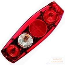 Caraluna II Plus, piros lakóautó lámpa
