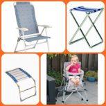 Kemping székek és kiegészítők