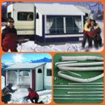 Téli sátrak